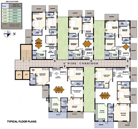 layout of house bloomfield elation hyderabad telangana india luxury