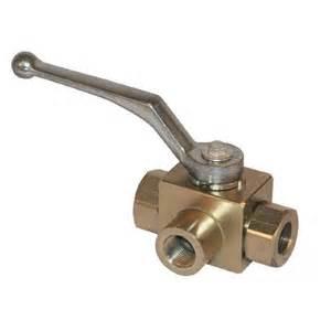 robinet hydraulique 3 voies haute pression 3 4 bsp