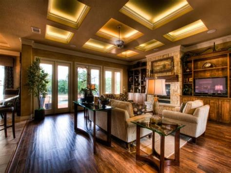 coffered ceiling lighting coffered ceiling with led lighting molding