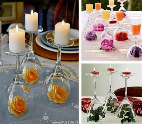 easy diy table decorations for wedding reception wedding