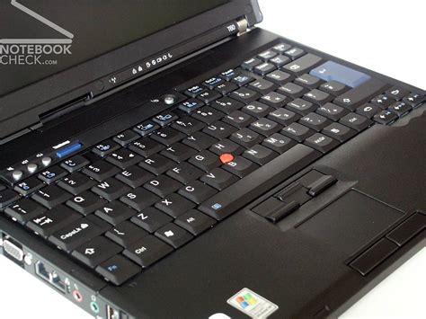 Laptop Lenovo Thinkpad T60 lenovo thinkpad t60 notebookcheck net external reviews