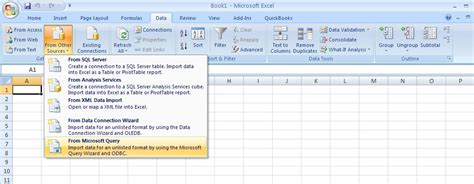 download updates for microsoft office excel 2007 help from qodbc desktop how to use qodbc with microsoft excel 2007