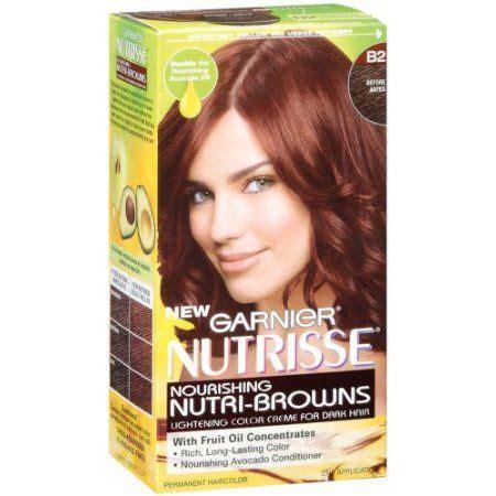 shoo that lightens hair color garnier hair color for brunettes shop nutrisse hair