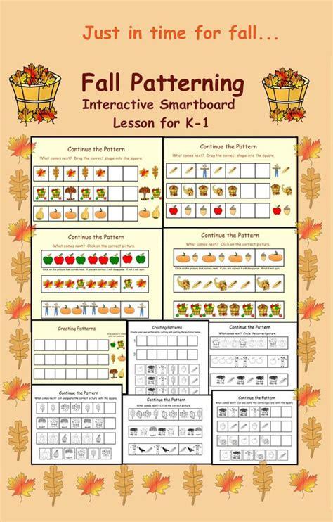 kindergarten pattern activities interactive 32 best images about preschool smartboard lessons on pinterest