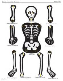 skeleton template printable skeleton learningenglish esl