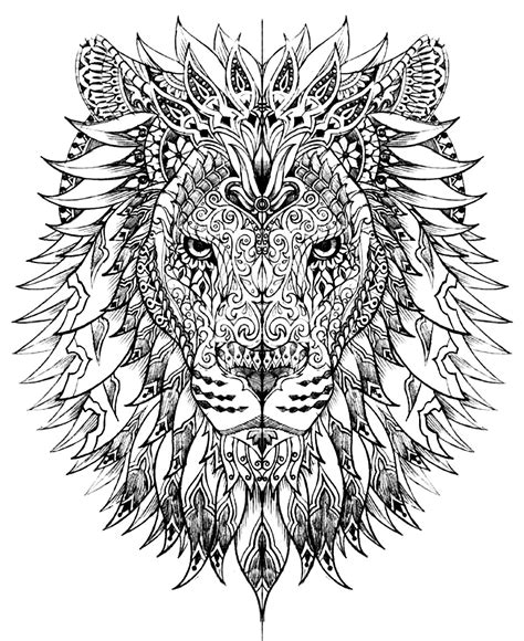 hard nature coloring pages hidden animals coloring pages for adults justcolor