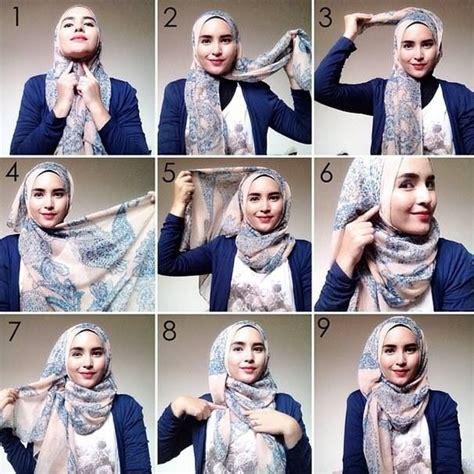 tutorial hijab paris segitiga ala zaskia sungkar best 25 hijab tutorial ideas on pinterest