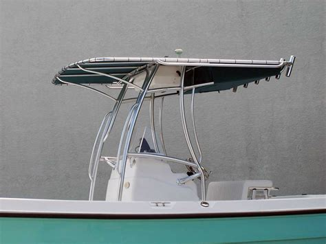 boat t top welding custom marine t tops for center consoles by action welding