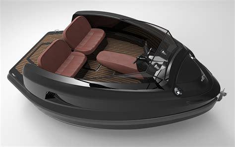 designboom jet capsule jet capsule s newest mini jet yacht has a removable roof