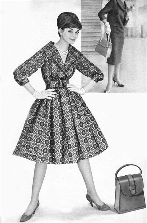 43 best images about 1959-61 women's fashion on Pinterest