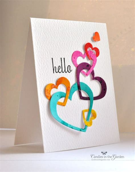 Card Handmade - style different handmade beautiful card designs for