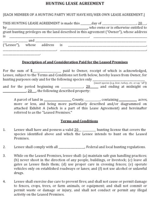 land lease template land lease agreement fillable pdf