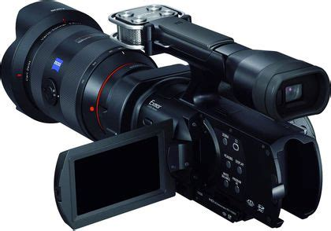 Kamera Sony Semi Pro camescope semi pro dix mod 232 les de qualit 233 professionnelle l express