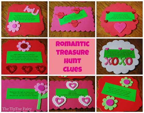 riddles for valentines day date with a treasure hunt the tiptoe