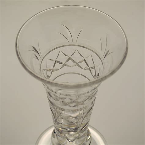 Stuart Vase by Stuart Imperial Miniature Trumpet Bud Vase C 1950