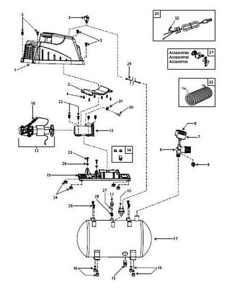 cbell hausfeld parts fp209002 fp209102 fp209402 air compressor