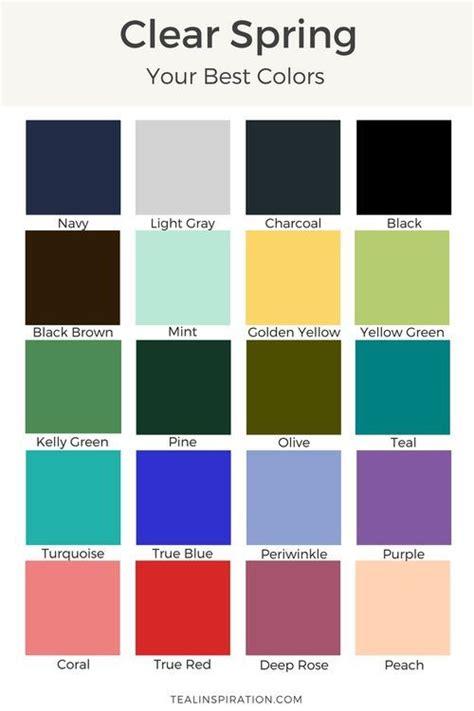 clear color palette 118 best clear bright color palette images on
