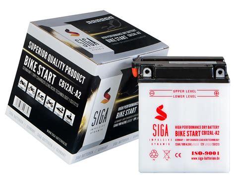 Motorrad Batterie 32ah by Siga Motorradbatterie Bilder