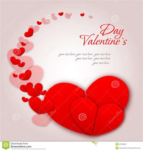 St S Day Photo Card Template by Happy Valentines Day And Weeding Cards Stock Photos