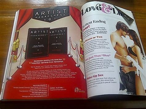 buku artist management 101 di majalah cosmopolitan edisi agustus 2012 avatara88