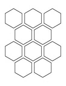 quilting hexagon templates free 25 best hexagon pattern ideas on color