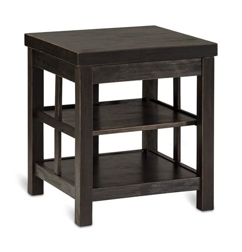 gavelston end table gavelston square end table hom furniture