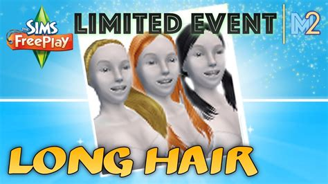 how to get long hairs on sims freeplay sims freeplay long hair event review walkthrough