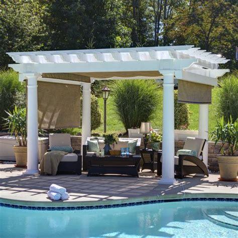shade gazebo shade curtain for pavilions and pergolas country