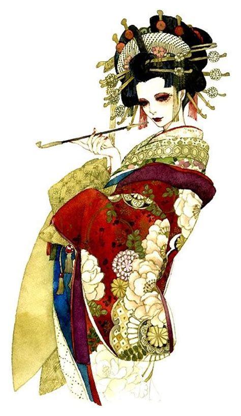 Las 25 Mejores Ideas Sobre Tatuajes De Geisha En Pinterest