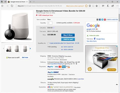 ebay google home google offers killer combo discount on google home and