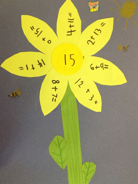 math crafts for my grade backpack may flowers