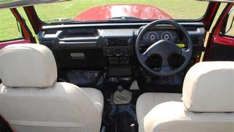 thar jeep interior mahindra jeep thar interior images