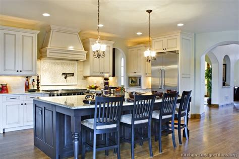 two island kitchen pictures of kitchens traditional two tone kitchen cabinets