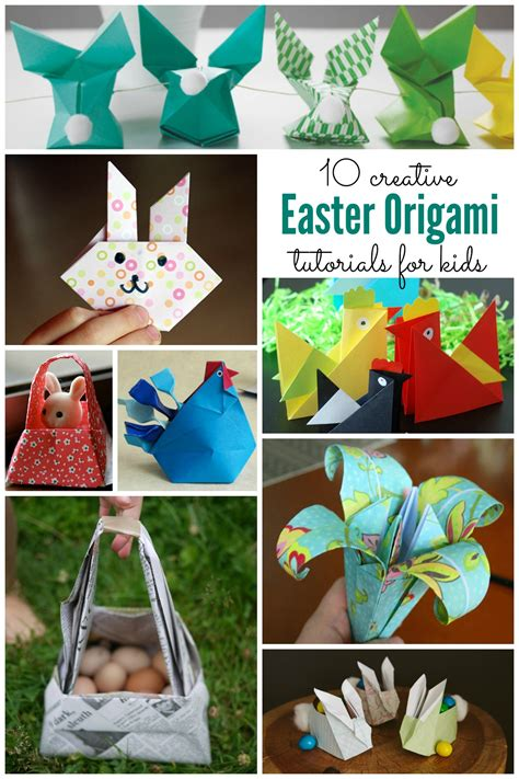 Origami Easter - easter origami for housing a forest