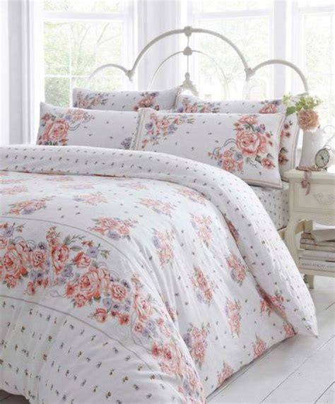 coral king size bedding coral pink lilac flowers super king size duvet quilt