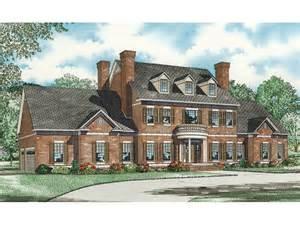 saltsburg luxury georgian home plan 055s 0081 house