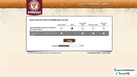 Tellpopeyes Com Sweepstakes - how to participate in the www tellpopeyes com web survey youtube