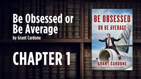 be obsessed or be be obsessed or be average book review week 1 youtube