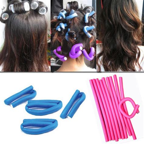 Bendy Hair Roller Sponge Isi 6 image gallery stick curlers