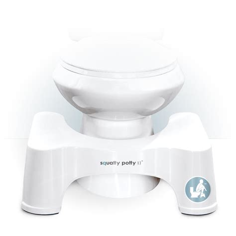 Squatty Potty Toilet Stool 2 Pack 2 pack squatty potty 9 quot toilet squat stool bathroom aid
