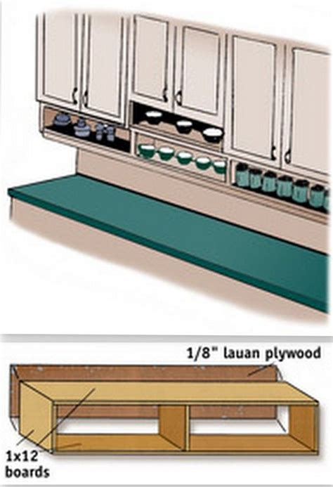 Under Cabinet Shelf Kitchen | 25 best ideas about under cabinet storage on pinterest