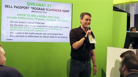 trade show presenter spark presentations spark trade show presenter shines at vegas convention