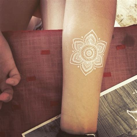 white color tattoo dark skin all about tattoo