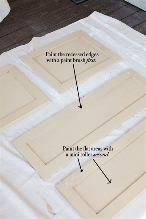 painting techniques for kitchen cabinets kitchen cabinet painting techniques 4 tips for painting