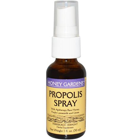 Sprei Honey Bee honey gardens propolis spray 1 fl oz 30 ml iherb