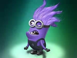 purple grumpy minion by samalah sandbrook dribbble