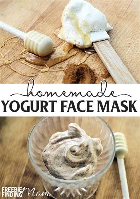 diy yogurt mask yogurt mask