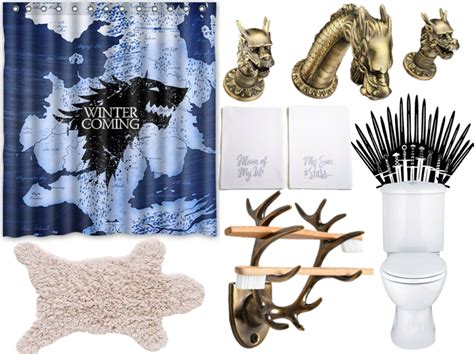 Of Thrones Decor by Rule The Porcelain Throne With A Of Thrones Themed