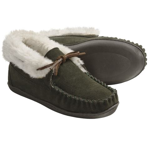 moccasin slippers for clarks suede moccasin slippers for save 36