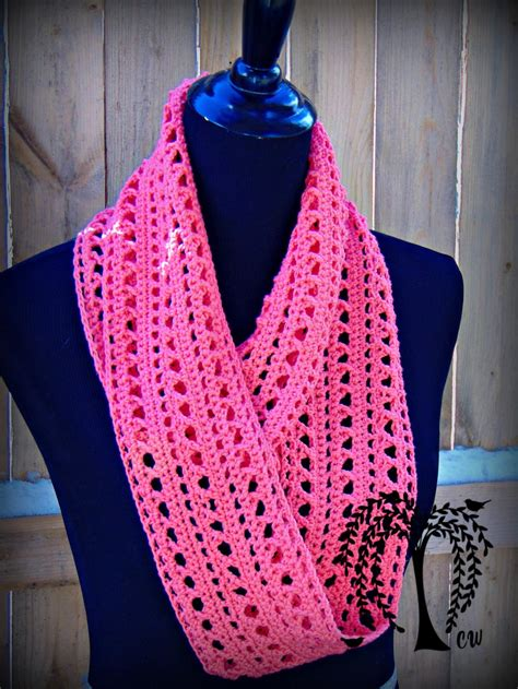 pattern for crochet infinity scarf kisses infinity scarf allfreecrochet